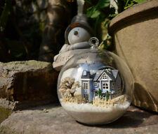 DIY  Miniature Dollhouse in Mini Glass Ball,  (B-004), Angel's Magic Town