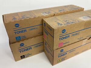 Konica Minolta TN616 Toners  -  CMYK  -  Full Set