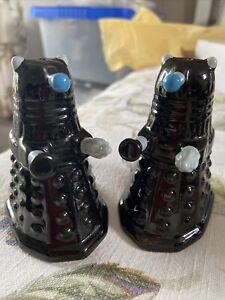 Doctor Who Daleks salt and pepper Pots Immaculate condition