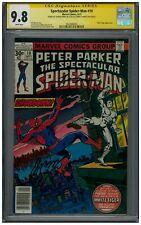 Spectacular Spider-Man #10 CGC 9.8 WP | Signature x 2 | Perez, Conway | 1 of 1 !