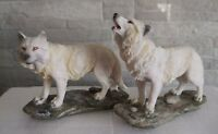 Mountain Watchers Wolves Fantasy Ornament / Statue 15.5cm Nemesis Now Set of 2