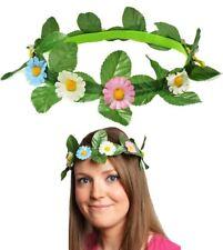 Daisy Flowers Headband Festival Easter Bonnet Alice Hippie Headress Band