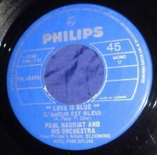 MB1062 Paul Mauriat Love Is Blue / Alone In The World 45 RPM Record