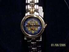 Disney Watch: Disneyland Resort Nle Fossil Watch in Round Blue Box (Mint)
