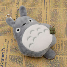 Women Lovely Anime Totoro Card Bag Portable Plush Coin Storage Purse Girl Gifts
