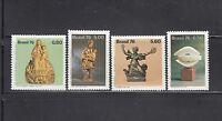 Brazil 1976  Sculptures Sc 1485-1488 Complete  Mint Never Hinged