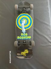Santa Cruz Rob Roskopp Black Independent Trucks Slime Balls Wheels Ultra Rare