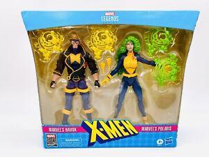 Marvel Legends Xmen Action Figure 2 Pack Havok and Polaris Hasbro Toys NEW