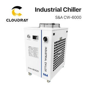 S&A CW6000 CO2 Laser Water Chiller for Laser Tube to Cooling 2 Years Warranty
