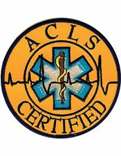 Novelty (U-N405) Advanced Cardiac Life Support Certified (ACLS) Patch