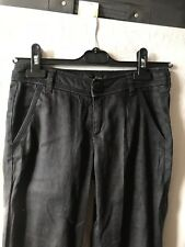 calvin klein jeans W 24 L34 Uk 6 / 8  Small Black Trousers ...