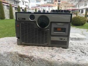 Vintage JVC 3060 CQ , vintage radio TV cassette recoder, portable JVC