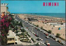 AA7791 Rimini - Lungomare e Spiaggia - Cartolina postale - Postcard