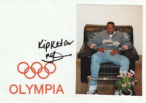Wilson Kipketer Ken LA 800m OS 2000/2 OS 2004/2 Org. Sig.