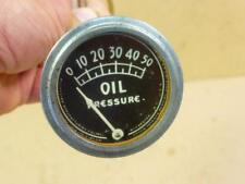 Antique Oil Pressure Gauge Rochester Mfg Hot Rod Rat Rod Roadster