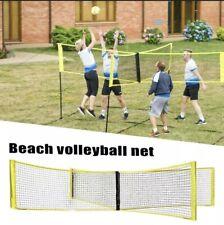 Sports Equipment Cross Shaped Indoor Outdoor Volleyball Net Folding Beach