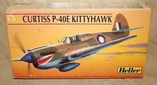 1/72 Heller Curtiss P-40E Kittyhawk Kit# 80266*