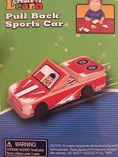 Learn and Create Pull Back Sports Car