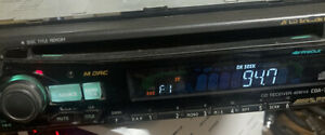 ALPINE CDA-7840 Detachable Face CD Player Car Stereo Faceplate Old School