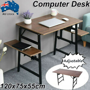New Home Adjustable Laptop Computer Desk Study Table Over Bed Storage Furniture
