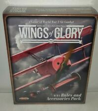 New Sealed WWI Wings of Glory WW1 Rules and Accessories Pack * Free Shipping