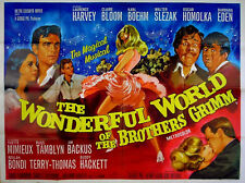 WONDERFUL WORLD OF THE BROTHERS GRIMM 1962 Claire Bloom Laurence Harvey UK QUAD