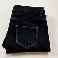 Toorallie Australian Merino Wool Blend Straight Leg High Waist Jean Size 12