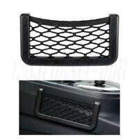 Car Trunk Cargo Interior Storage Mesh  String Bag Holder Pocket Organizer Black