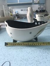 More details for wade shooting stars fruit bowl 1950s mid centry modern great vintage condition