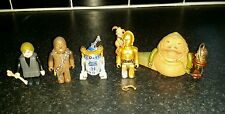 Medicom kubrick star wars DX series 1, 4 figures + jabba the hutt