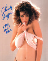 CHRISTY CANYON SIGNED 8x10 PHOTO + HOF XXX PORN MOVIE ACTRESS LEGEND BECKETT BAS