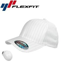 Flexfit Pinstripe Baseball Cap L/XL Weiß