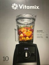 Vitamix A2300 Ascent Series Smart Blender Black