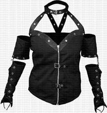 Unifarbene L Damen-Kapuzenpullover & -Sweats mit V-Ausschnitt