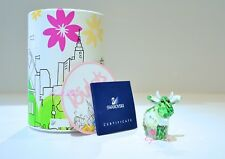 Swarovski 2008 Limited Edition Flower Mo Green Ox Cow 1027911 Brand New In Box