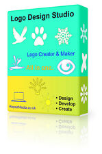 Logo Creator Maker Designer Professional Graphics Print Logo PC DVD Software