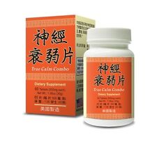 True Calm Combo Supplement Help Mental Strain Insomnia Ringing in Ears USA Made