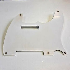 Aged 50 TL Pickguard White 1 ply GuitarSlinger Parts fits to Tele ®