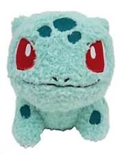 "Sekiguchi Pokemon MokoMoko Bulbasaur Fluffy Stuffed Plush, 7"""