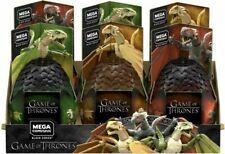 Mega CONSTRUX Game of Thrones Dragon Egg-Série Black