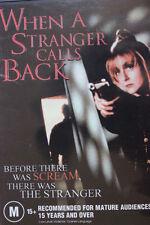 WHEN A STRANGER CALLS BACK DVD RARE DELETED CAROL KANE & CHARLES DURNING HORROR