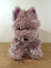 "Build a Bear Purple Scottie Terrier Dog 11"" x 15"" Plush"
