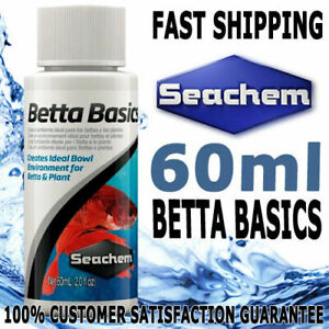 Seachem Betta Basics Fighting Fish Water Conditioner 60ml
