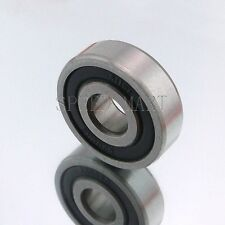 1PCS 6200-2RS 6200RS Deep Groove Rubber Shielded Ball Bearing (10mm*30mm*9mm)