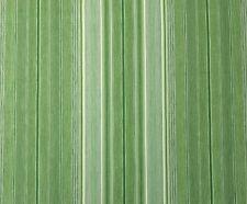 "WAVERLY GULF STREAM GREEN STRIPE VINTAGE FURNITURE FABRIC 3.5 YARDS 54""W"