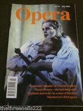 OPERA MAGAZINE - VLADIMIR JUROWSKI - JULY 2003