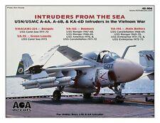 AOA decals 1/48 INTRUDERS FROM THE SEA - USN/USMC A-6A Intruders in Vietnam War