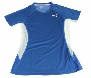 Pumatb Running Race Singlet Size XS Running Jogging Shirt Blue Ladies 509450 15