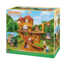 Sylvanian Families Adventure Tree House Playset 5450