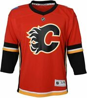 Outerstuff NHL Toddler Replica Jersey- Calgary Flames - Infant Size 12-24 Months